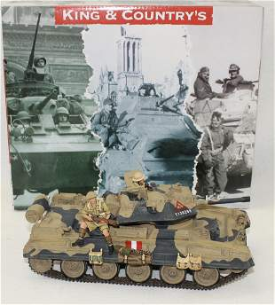 King & Country #EA029 Desert Crusader Tank
