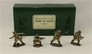 King & Country #DD037 US Fighting Patrol