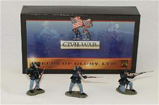 Conte #57100 ACW Union Infantry Firing