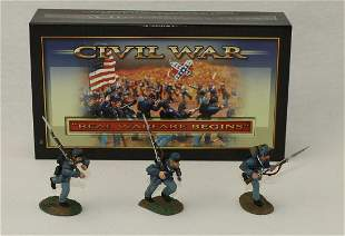 Conte #57105 ACW Union Infantry Charging