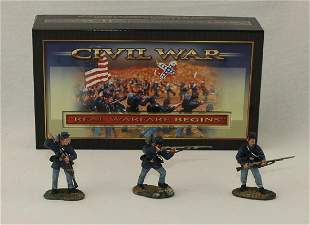 Conte #57107 ACW Union Infantry Firing