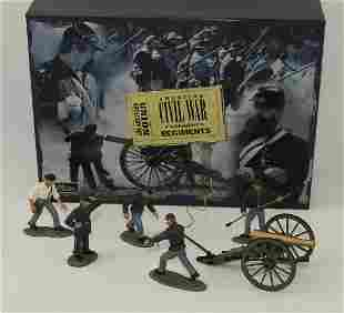 Britains #17240 ACW Union Artillery Set.