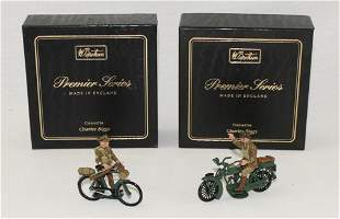 Britains Lot British Sergeant and Officer