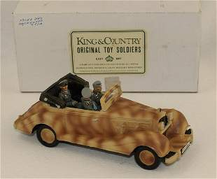 King & Country #WS022 Rommel Staff Car