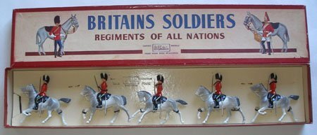 Britains Set #32 Royal Scots Greys with Officer