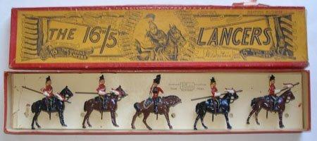 Britains Set # 33. 16th/5th Lancers in Original Box