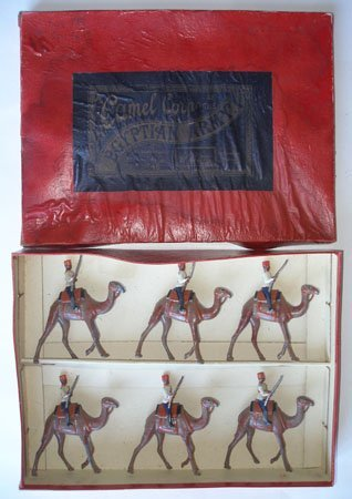 Britains Set # 48. Egyptian Camel Corps.