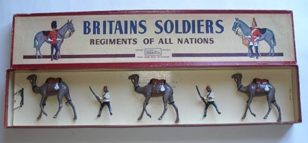 Britains Set # 48 Egyptian Camel Corps in Original Box