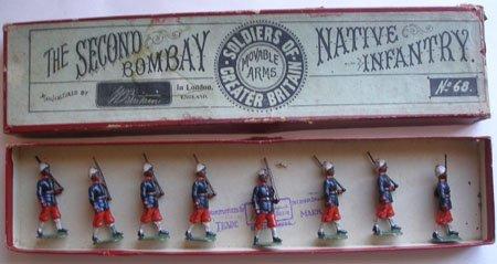 Britains Set # 68. Second Bombay Native Infantry