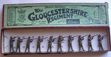 Britains Set # 119. Gloucestershire Regiment