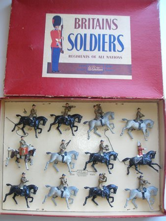 Britains Set # 101. Mounted Band of the Lifeguards