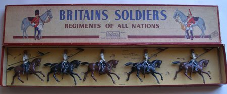Britains Set #115 Egyptian Cavalry Lancers with Officer