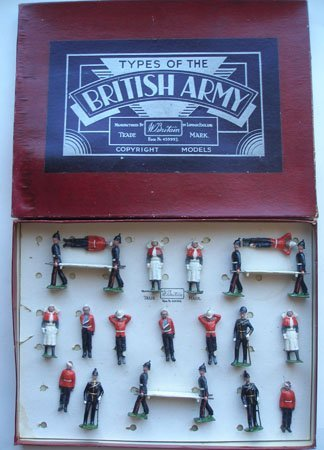 Britains Set # 137. Army Medical Service with Sisters