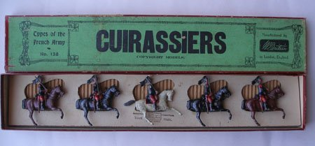 Britains Set # 138. French Cuirassiers