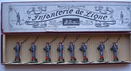 Britains Set #141. Infanterie De Ligne in Original Box