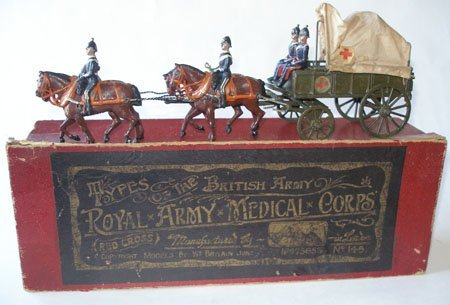 Britains Set # 145. Royal Army Medical Corps