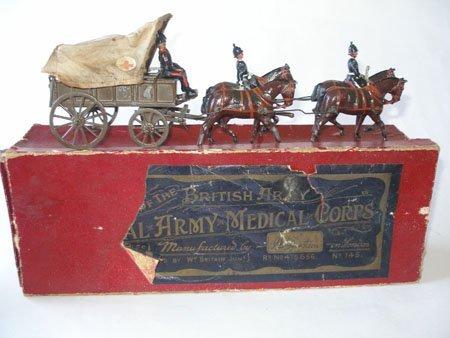 Britains Set #145 Royal Army Medical Corps Wagon