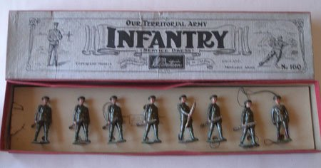 Britains Set # 160. Territorial Infantry at the Trail
