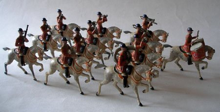 Britains Set # 101 Life Guard Band  RARE 1st Version