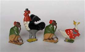 Britains Cadbury Cococubs Squire Rooster Monty Monkey