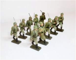 Lineol WW2 65mm German Infantry