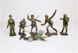 Lineol WW2 German Infantry