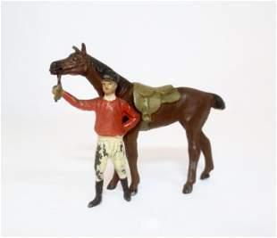 Heyde Jockey with Race Horse