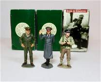 King & Country WWII Personality Figures