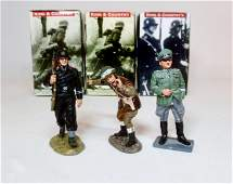 King & Country WWII Figures