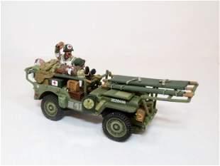 """King & Country #DD068 """"Ambulance Jeep Set"""""""