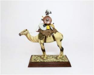 Taaish Dervish Warrior on Camel