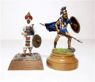Dervis Omdurman and Greek Warrior