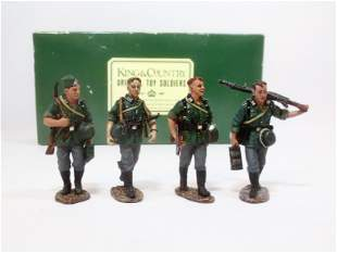 King & Country #WS040 Wehrmacht Infantry