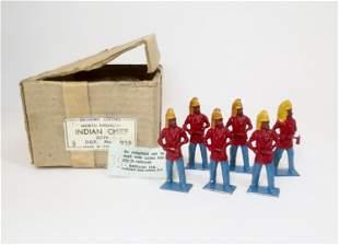 Britains #99P 36 PIECE Indian Chief Trade Box