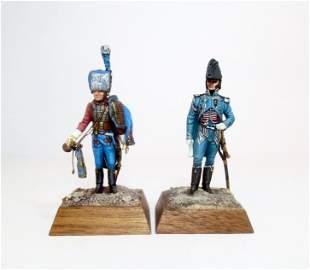 Bugler Cheval De La Garde & Marshal Gourgaud