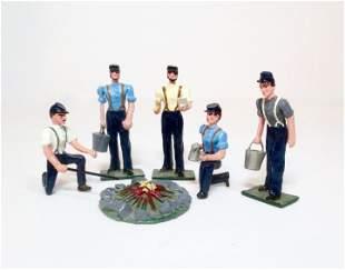 Mike Ferguson Civil War Union Campfire Set