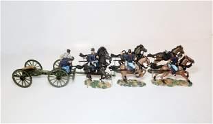 Britains #17379 Six Horse Artillery Set
