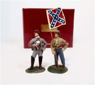 Britains #31033 Confederate Artillery Command