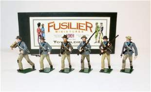 """Fusilier Confederate Infantry """"Bugle Charge"""""""