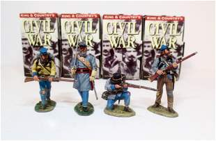 King & Country American Civil War Figures