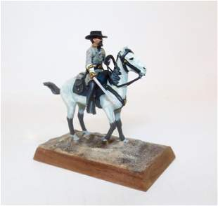Stadden Mounted Confederate Cavalry Officer