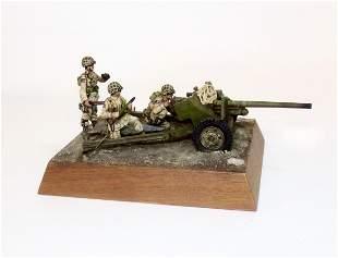 World War II U.S. Artillery Vignette