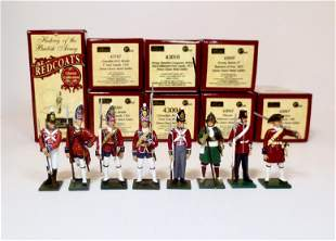 """Britains """"Redcoats"""" Series Boxed Figures"""