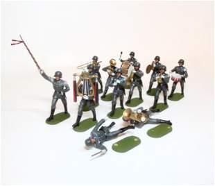 Elastolin WWII German Infantry Band