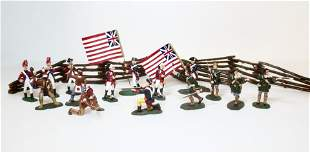 Lemans Early American War Soldiers