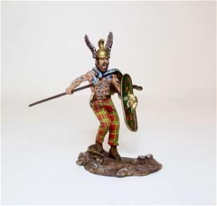 St. Petersburg Germanic Warrior In Winged Helm