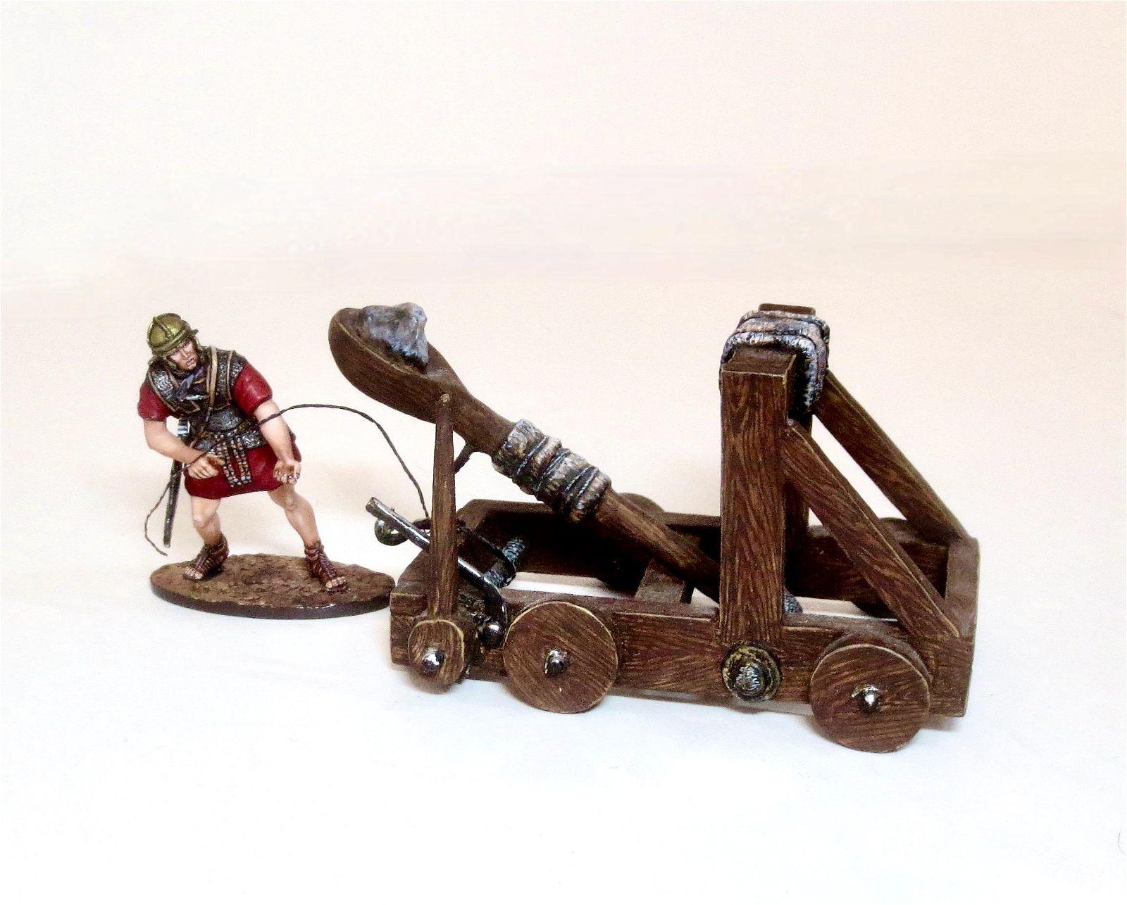 St. Petersburg Roman Catapult & Crewman