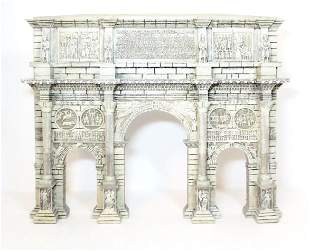 King & Country Roman Victory Arch Façade