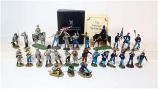 "Franklin Mint ""Great Battles Of The Civil War"""