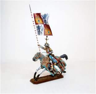 St. Petersburg Spanish Knight on Galloping Horse